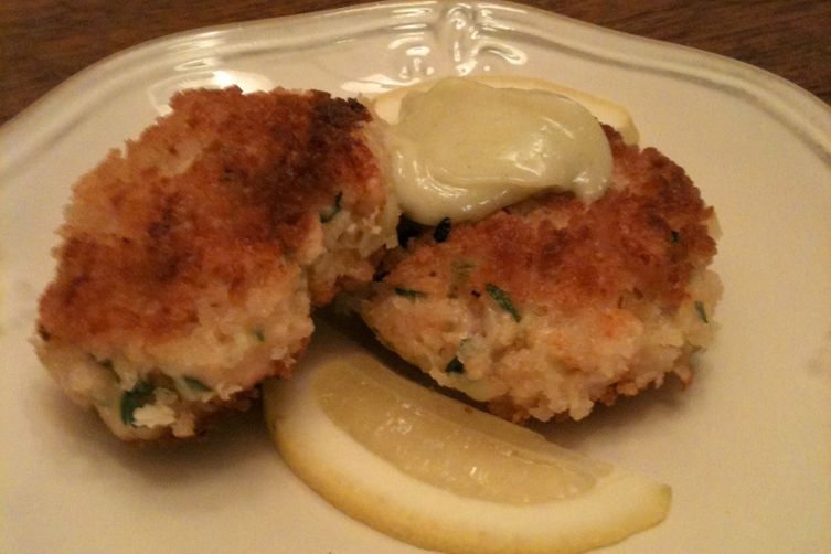 Shrimp Croquettes with Wasabi Aioli
