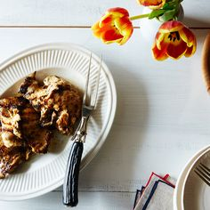 Garlic and Herb-Marinated Chicken Thighs
