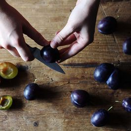 A Haiku or Two, on Plums