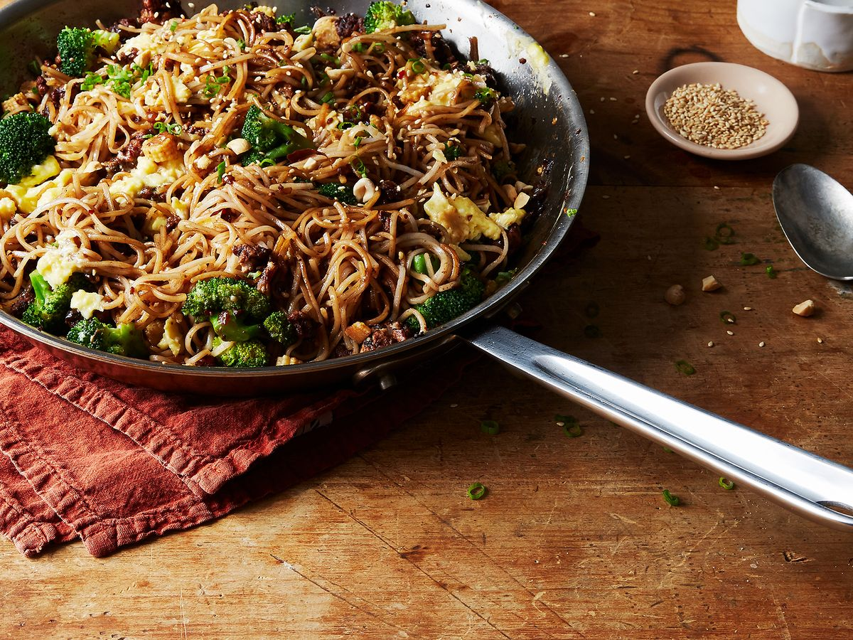 Stir Fried Rice Noodles With Minced Pork And Black Bean
