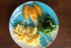 What Goes Together Like Eggs, Broccoli, and Oranges?