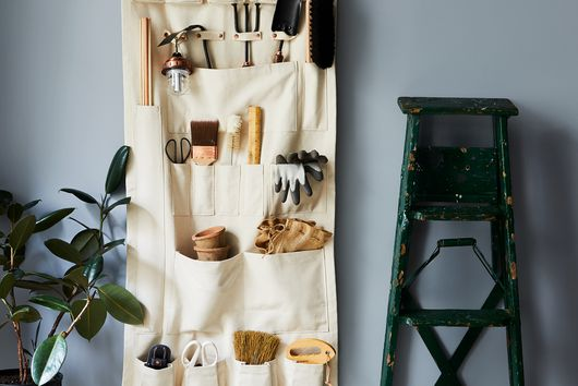 Vertical Canvas Wall Organizer
