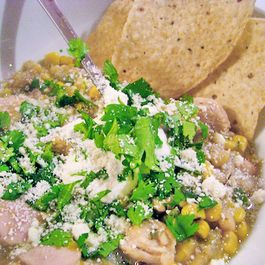 Mojo White chicken Chili