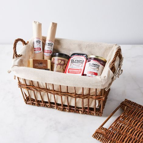 Food52 x Olympia Provisions Holiday Charcuterie Basket