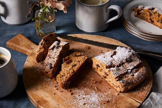 Spelt Stollen for the Holidays