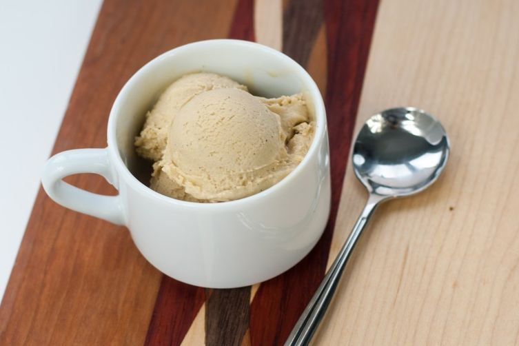 Dairy-Free Coffee and Coconut Ice Cream