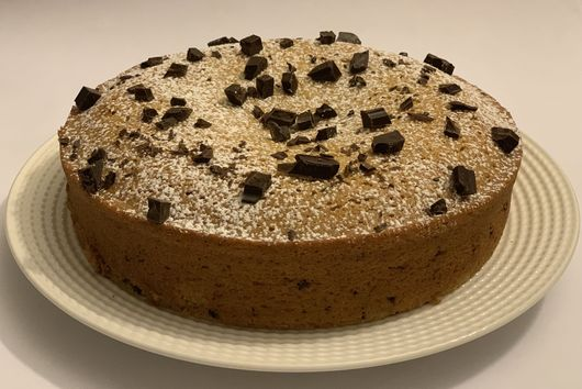 Mixingwithzest's Bourbon & Dark Chocolate Olive Oil Cake