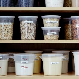 Pantry organization by Vicki Yeager