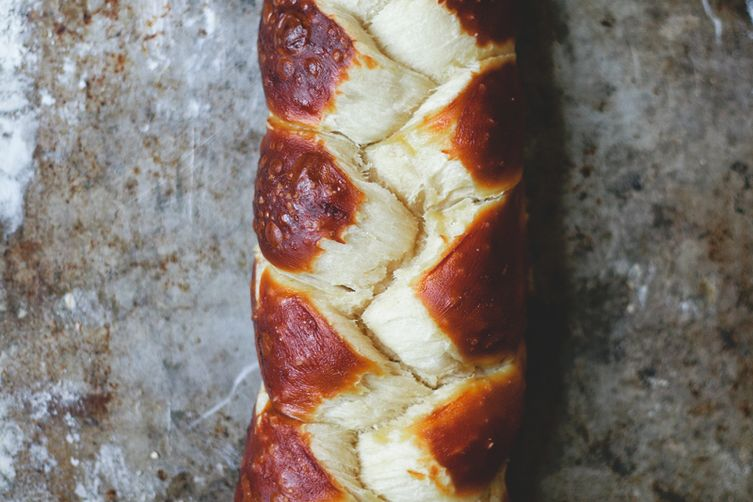Pretzel Challah Recipe on Food52
