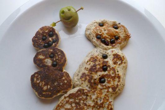Chia Seed and Buckwheat Pancakes