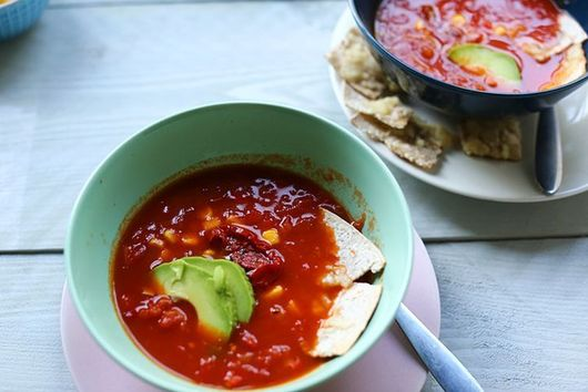 Super easy tortilla soup