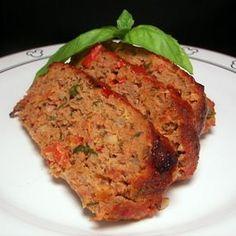 Porcini & Cabernet Meatloaf