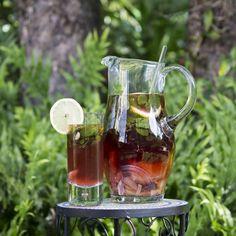 Citrus Mint Hibiscus Agua Fresca