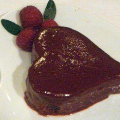Valentine's Chocolate and Raspberry Cake