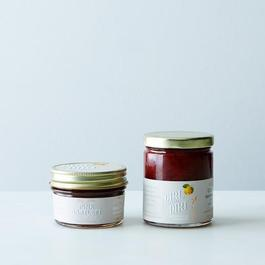 Quince Marmalade & Pink Bartlett Preserve Duo