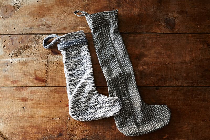 How to Upcycle Soft Old Sweaters and Shirts into Stockings