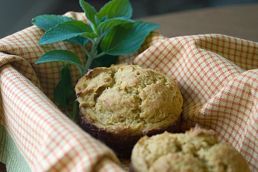 Mango Coconut Cardamom Muffins