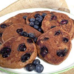 Breakfast for Dinner: Almond Flour, Blueberry Pancakes