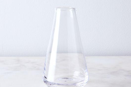 Handblown Bristol Bud Vase