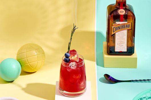The Smoked Blueberry Margarita From Cointreau