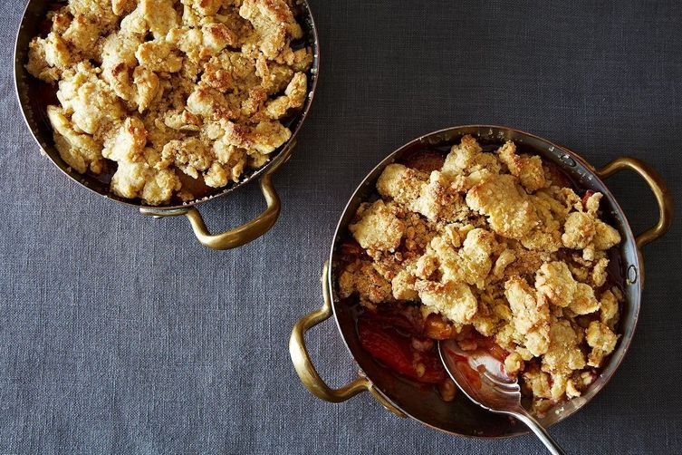 Spiced Plum Cobbler on Food52