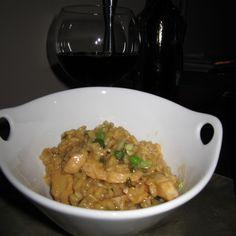Vietnamese Caramel Chicken Risotto