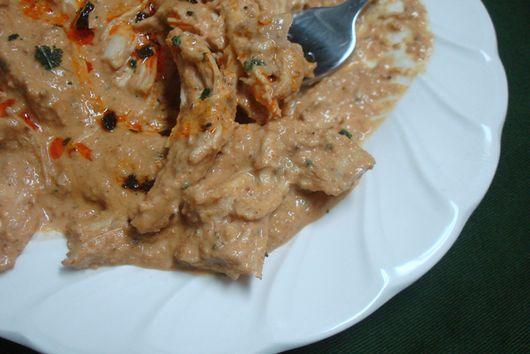 Chicken in Sage Walnut Sauce
