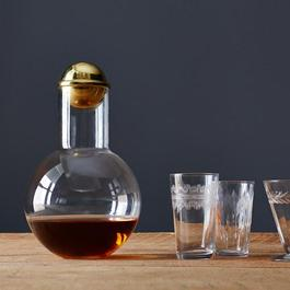 Handblown Decanter