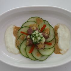 World Cup Cucumber & Lamb Sosatie