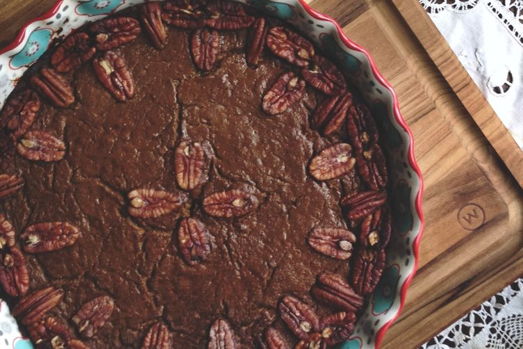 Pumpkin Pie | Buttery Pecan and Date Crust