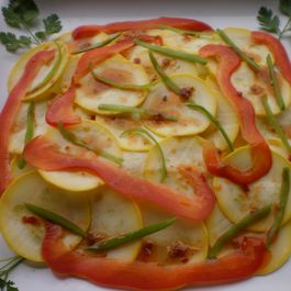 Hot and Spicy Squash Salad