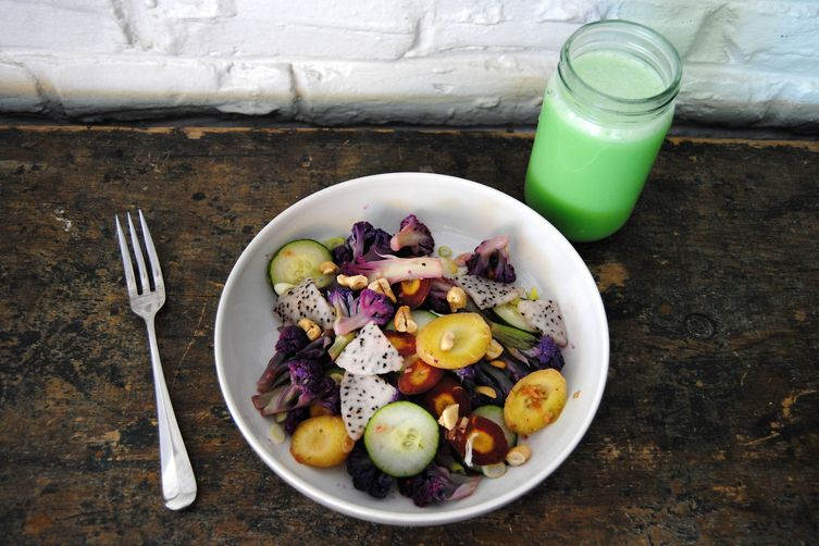 Snozzcumber Salad, Inspired by Roald Dahl's The BFG