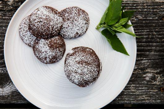 Wild Bergamot Chocolate Cookies
