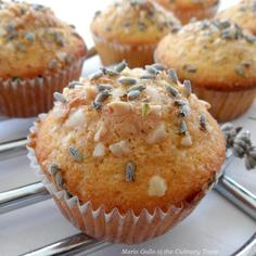 Lavender and Almond Cupcakes