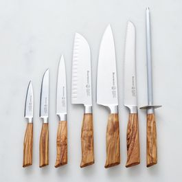 Oliva Elité Olive Wood Handled Knives