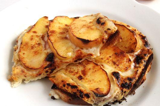 Grilled Apple Toast