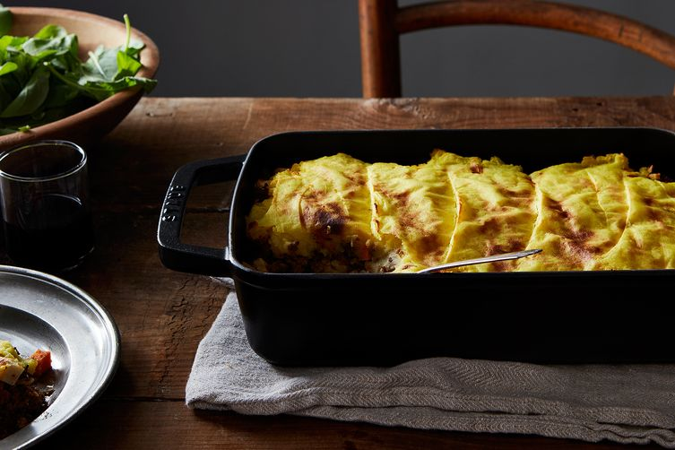 Rogan Josh Shepherd's Pie