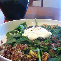 Pesto Quinoa Veggie Bowl