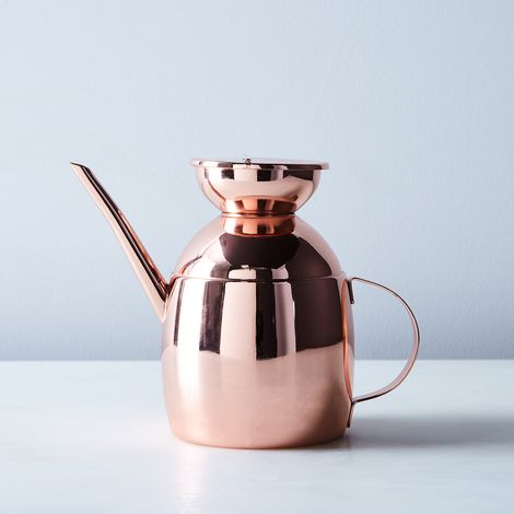 Copper-Finish Oil Cruet