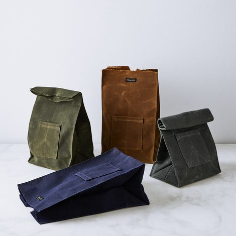 Canvas Lunch Bag with Note Pocket