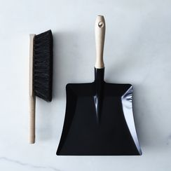 [OLD] Vintage-Inspired French Brush & Dustpan Set