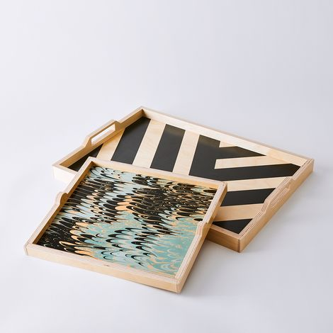 Handcrafted Wooden Mix & Match Trays