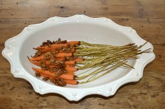 F181f85f 5276 4952 8dd8 5786014c708e  roast carrots with fleur de sel maple candied pecans and orange zest leif