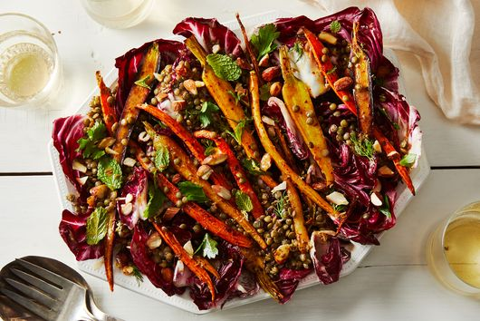 Fall Salad With Lemony Brown Butter Vinaigrette