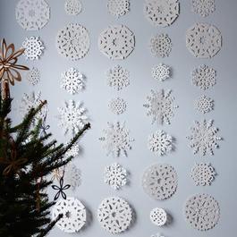 Snowflake Hanging Garland