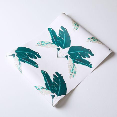 Self-Adhesive Wallpaper, Palm Marine