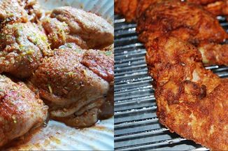 32856754 e691 4e2f 9401 3782c5575dee  jerk fried chicken marinating and fried