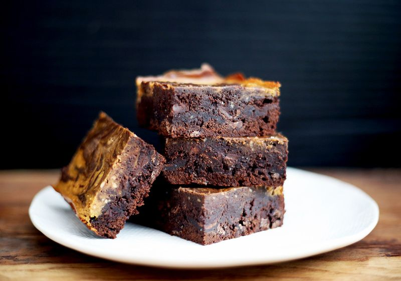 Now, this is the brownie you make if you love pumpkin.