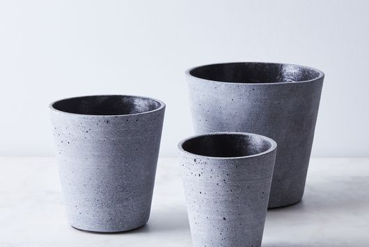 Modern Stone Flower Pots