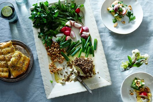 Sabzi Khordan (Fresh Herb Platter)
